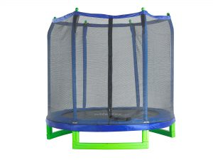 blue_ green trampoline